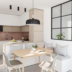 30 kitchen island ideas for the perfect mix of drama and .- 30 Kücheninsel Ideen für die perfekte Mischung aus Drama und Design 30 kitchen island ideas for the perfect mix of drama and design - Kitchen Decor, Home Decor Kitchen, Dining Room Decor, Apartment Kitchen, Kitchen Design Small, Kitchen Corner, Dining Room Small, Kitchen Remodel, Home Decor