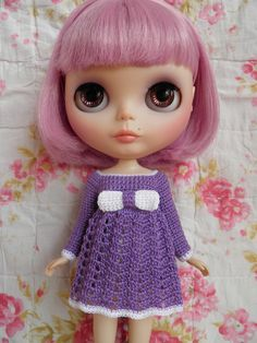 Blythe Beautiful Crochet dress. $18.50, via Etsy.
