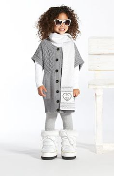Gucci - girls, this is so adorable I can't stand it! Check out those boots!