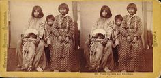 """Paiute women and children - 1865 The origin of the word """"Paiute"""" is unclear. Some anthropologists have interpreted it as """"Water Ute"""" or """"True Ute"""". The Northern Paiute call themselves Numa (sometimes written Numu); the Southern Paiute call themselves Nuwuvi. Both terms mean """"the people"""". The Northern Paiute are sometimes referred to as Paviotso"""