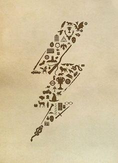 Lightning never strikes twice  Art Print by John Tibbott