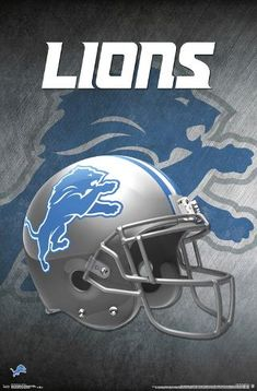 Detroit Lions Helmet, Detroit Lions Logo, Detroit Lions Football, Detroit Sports, Football Gear, Nfl Sports, Football Helmets, Cincinnati Bengals, American Football