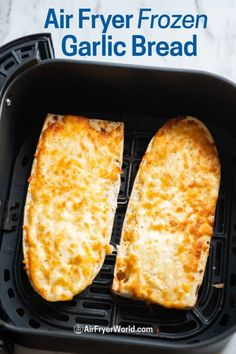 If you're eating frozen garlic bread you must try our Quick and Easy Air Fryer Garlic Bread. Air Fried garlic bread is the best! Frozen Garlic Bread, Make Garlic Bread, Just Cooking, Cooking Time, Large Air Fryer, French Fries Recipe, Types Of Bread, Recipe Details, Mac And Cheese