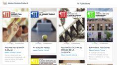 La revista del Master en Gestión Cultural de la Universidad Carlos III de Madrid.  http://issuu.com/mastergestioncultural/docs