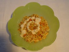 Risotto cu dovleac si crema de parmezan Risotto, Eggs, Breakfast, Ethnic Recipes, Food, Cream, Egg, Hoods, Meals