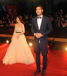 Fabulously Spotted: Godfrey Gao Wearing Dior Homme - 16th Shanghai International Film Festival Opening Ceremony - http://www.becauseiamfabulous.com/2013/06/godfrey-gao-wearing-dior-homme-16th-shanghai-international-film-festival-opening-ceremony/