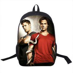 Supernatural Winchester Bros Backpack Bag