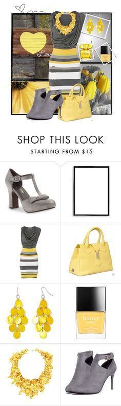 """Love"" by vst063090 ❤ liked on Polyvore featuring Poetic Licence, Bomedo, Mixit, Butter London, WithChic and Versace"