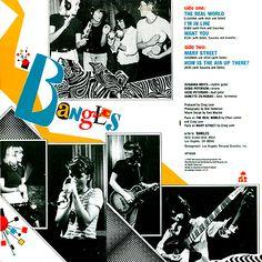"""Mini Album """"Bangles"""" 1982"""