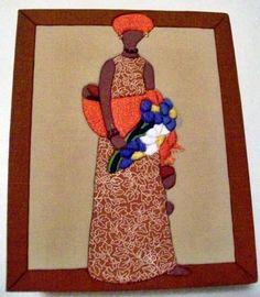Caixa em MDF decorada com a técnica de patchwork embutido e totalmente revestida de tecido 100% algodão. Fazemos em outros tamanhos e modelos sob encomenda. R$ 35,00