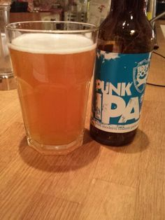 2014 Beer Advent Calendar-Day 15: A break from all the Christmas brews for a Brewdog classic. Punk IPA, just what the doctor ordered :-) #beeradventcalendar