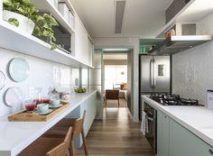 Kitchen Cupboard Designs, Kitchen Cupboards, Kitchen Ideas, Ikea Ma, Minimal Apartment, Living Room Kitchen, Kitchen Interior, Cool Kitchens, Sweet Home