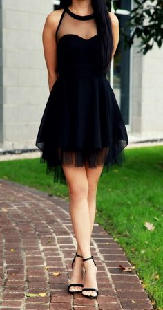 Black ,Tulle Gowns,Party Dress,Short Prom Gown,Sweet 16