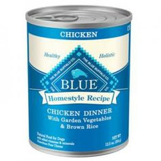 Grange Co-op: BLUE Adult Dog Chicken Dinner with Garden Vegetables & Brown Rice 12.5 oz Can