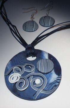 Washer Necklace, Jewerly, Polymer Clay, Jewelery, Jewelry, Jewels, Jewlery, Modeling Dough