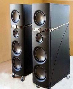 High End Audio Equipment For Sale Floor Speakers, High End Speakers, Small Speakers, High End Audio, Tower Speakers, Audiophile Speakers, Hifi Audio, Audio Speakers, Monitor Speakers