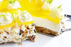 .. chute a vône mojej kuchyne...: Citronova nepecena  torta