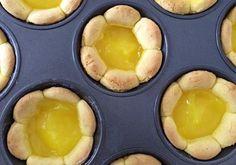 Lemon Daisy Tarts