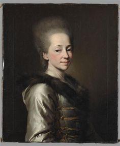 La princesse Maria Palovna Narychkine, hôtesse de Diderot en Russie, Levitskii Dimitrii Grigorievitch (1735-1822 \ Réunion des Musées Nationaux-Grand Palais -