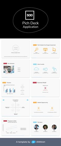 8 Best Pitch Deck templates from real Successful Companies images in