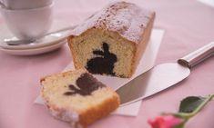 Kuchen mit Hase Rezept: Kastenkuchen mit Schokohasen im hellen Teig - Eins von 7.000 leckeren, gelingsicheren Rezepten von Dr. Oetker!