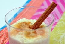 Arroz con Leche Recipe: This rich and sweet rice pudding recipe is popular in many Latin cultures, especially Mexico and Cuba. Rice and milk are sweetened with cinnamon, vanilla and sugar for a pudding dessert that is the ultimate in comfort food. #ImperialSugar