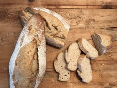 Backen mit Christina … | Knusperbaguette Best Bread Recipe, Bread Recipes, Dessert Cake Recipes, Desserts, Ciabatta, Bread Baking, Side Dishes, Food And Drink, Sweets