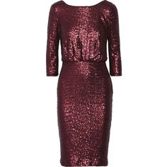 Badgley Mischka Sequin-embellished tulle dress ($240) ❤ liked on Polyvore featuring dresses, red, sequin cocktail dresses, open back cocktail dress, red cocktail dress, tulle dress and draped dress