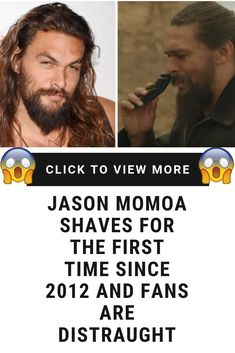 Jason Momoa Shaves for the First Time Since 2012 and Fans Are Distraught Relationship Memes, Relationships Love, Celebrity Gossip, Celebrity News, Funny Jokes, Hilarious, Celebrity Wallpapers, Jason Momoa, News Update