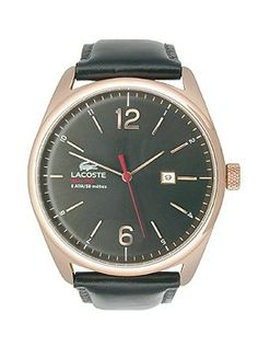 Men's Wrist Watches - Lacoste Mens 2010747AUSTIN Red Gold Watch * Check this awesome product by going to the link at the image.