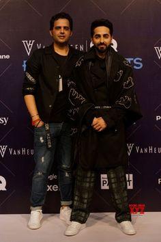 Mumbai: Van Heusen + GQ Fashion Nights 2017  Ayushmann Khurrana, Sahil Aneja - Social News XYZ
