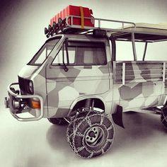 Ideas Flatbed Truck Camper Vw Bus For 2019 Volkswagen Bus, Volkswagen Transporter, Vw T3 Camper, Transporter T3, Vw T1, Truck Camper, Vw T3 Doka, Vw Vanagon, Mini Trucks