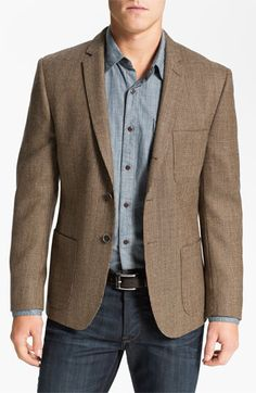 Dockers® Three-Button Houndstooth Wool Blazer available at #Nordstrom  $99.49  Can't find it in his size