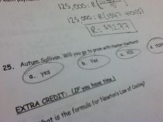 one of my really good friends asked a girl to go to prom with him through a science test. cutest thing i've EVER seen.