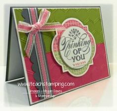 So cute!!  just thinking, stampin up