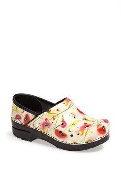 Dansko 'Professional' Clog available at #Nordstrom. Perfect for nursing