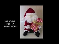 Faça você mesmo, PESO DE PORTA PAPAI NOEL - YouTube