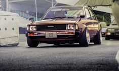 great picture of paddy's corolla Corolla Ke70, Corolla Wagon, Japanese Sports Cars, Japanese Cars, Toyota Corona, Rims For Cars, Old School Cars, Toyota Cars, Jdm Cars