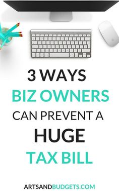 Are you self- employed? If so, find out how I prevent a HUGE tax bill each year!- Taxes, pay down tax bill, huge tax bill, Make Money Blogging, Money Tips, Way To Make Money, Saving Money, Business Funding, Business Tips, Online Business, Bookkeeping Course, Financial Tips