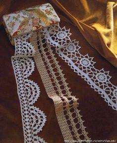 Delicadezas en crochet Gabriela: Puntillas