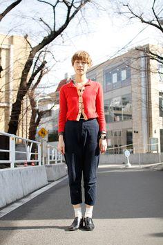 Midori | Hairdresser  Street Style #Japan