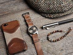 Rolex: Full leather nato strap