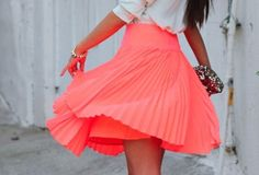 #falda #skirt #neon♥