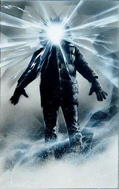 The Thing (alternative illustration to poster) by Drew Struzan Fiction Movies, Cult Movies, Scary Movies, Horror Artwork, Horror Monsters, Kunst Poster, Classic Horror Movies, Sci Fi Horror, Movie Poster Art