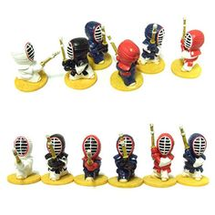 Kendo Miniature Dolls 6 type set