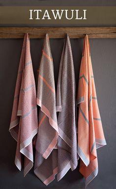 Itawuli Flat Weave Towel Mungo South Africa