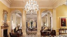Claridge's, the most iconic 5 star hotel in Mayfair. Experience a world of d… Claridge's, the most iconic 5 star hotel in Mayfair. Experience a world of design and flawless service at our luxury hotel in London Art Deco Hotel, London Hotels, Hotel Specials, Mayfair London, Hotel Lobby, Park Hotel, Suites, Art Deco Design, Grand Hotel