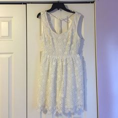 White Flower Sundress