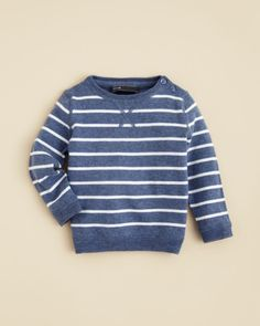 4bfb555dd9 Vince Infant Boys  Vintage Melange Stripe Sweater - Sizes 6-24 Months Kids  - Bloomingdale s
