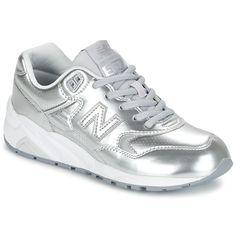 6e10a41e4eb76 Nizke tenisky New Balance WRT580 Stříbrná